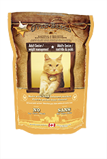 Senior chicken cat food
