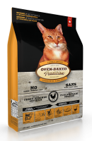 Nourriture pour chat senior - Poulet | Chicken formula senior cat food | Oven-Baked Tradition