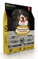 Nourriture pour chien grande race - Poulet | Chicken-flavoured dog food for large breeds | Oven-Baked Tradition