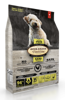 Nourriture pour chien petite race - Poulet sans grain | Grain free chicken formula dog food for small breeds | Oven-Baked Tradition