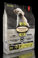 Nourriture pour chien petite race - Poulet sans grain | Grain free chicken formula dog food for small breeds | Oven-Baked Tradition