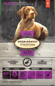 Nourriture pour chien toutes races sans grains Canard Toutes etapes de vie