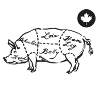 100% Canadian Pork