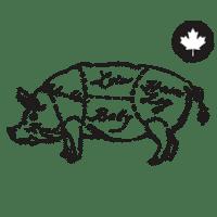 100% Porc Canadien